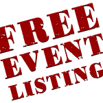 List Your Event for FREE!